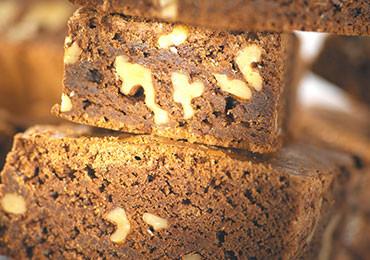 Brownie Blueberry American Bakery in Zürich und Basel